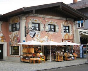 frescoed house Germany