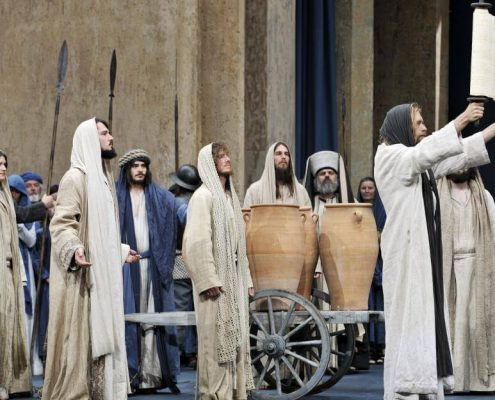 The Cast of oberammergau